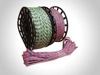 Канат полипропиленовый плетеный 6 мм намотка 20-200 м