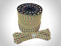 Канат полипропиленовый плетеный 12 мм намотка 10-200 м